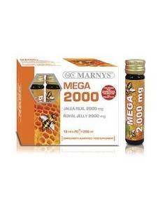 JALEA REAL MEGA 2000 MG 20 VIALES