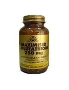 L-GLUTATION Maximizado 250mg 60caps.