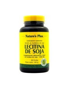 LECITINA Soja 90 perlas 1200MG - Nature's Plus