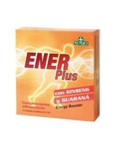 ENER PLUS (Ginseng + Guarana) 10 ampollas de 10ml - Sotya