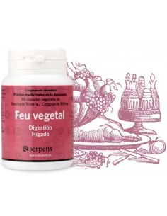 Feu vegetal 90 caps Serpens